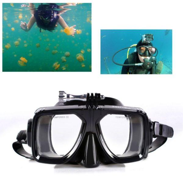 mask-diving-gopro-маска-за-гмуркане-водолазна-екшън-камера