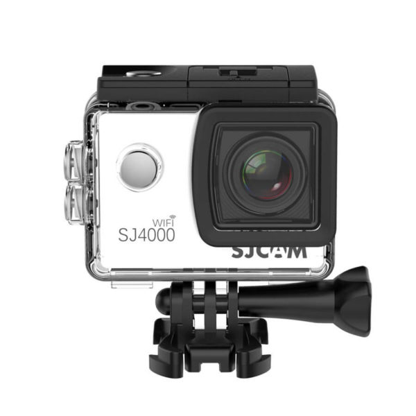 екшън камера sjcam sj4000wifi, бял 2