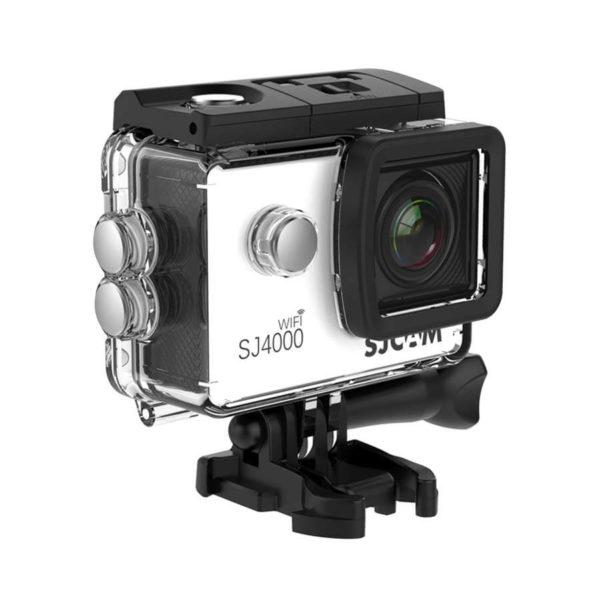екшън камера sjcam sj4000wifi, бял