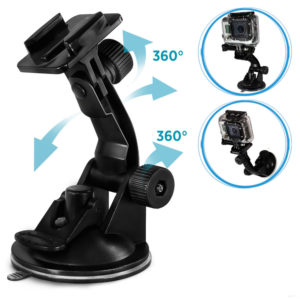 Gopro-Car-Suction-Cup-Mount-Hero-стойка-за-кола-капак-стъкло-вакуум-спортна-екшън-камера