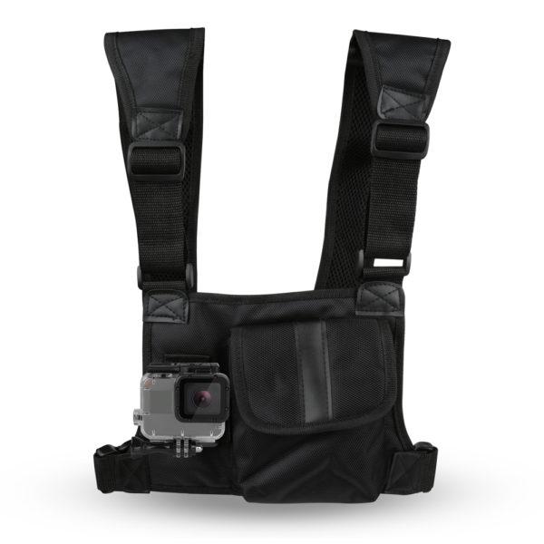 стойка за гърди тип чанта за GoPro