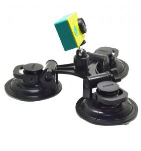 вакуум-стойка-за-кола-автомобил-вендуза-екшън-камера