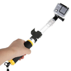 Transparent-Floating-Extension-GoPro-monopod-монопод-селфи-стик-selfie-stick