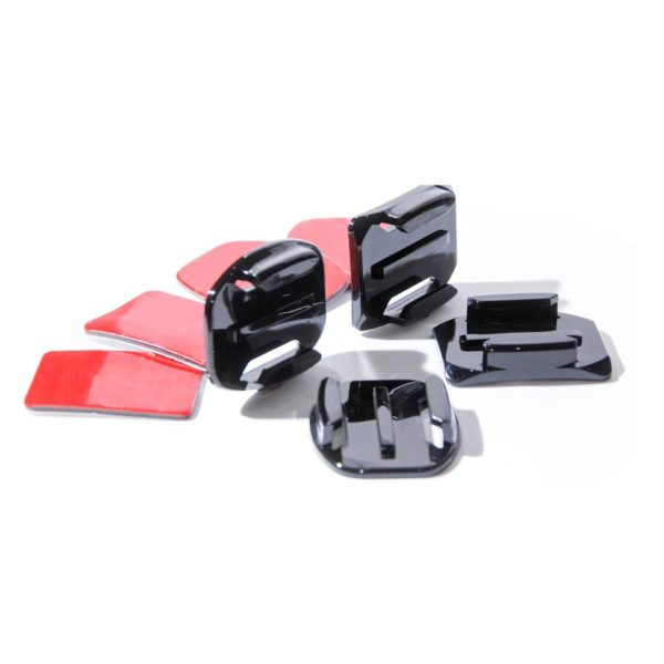лепенки-за-gopro-екшън-камера-flat-curved-gopro-mount-kit-3m-sticky-pads