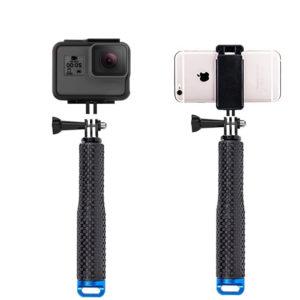 селфи стик за gopro и смартфон