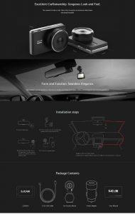 Видеорегистратор SJCAM M30 HD 1080P Dash Cam 13