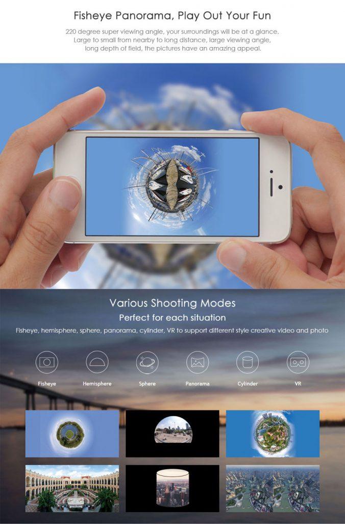 SJCAM SJ360 екшън камера 7