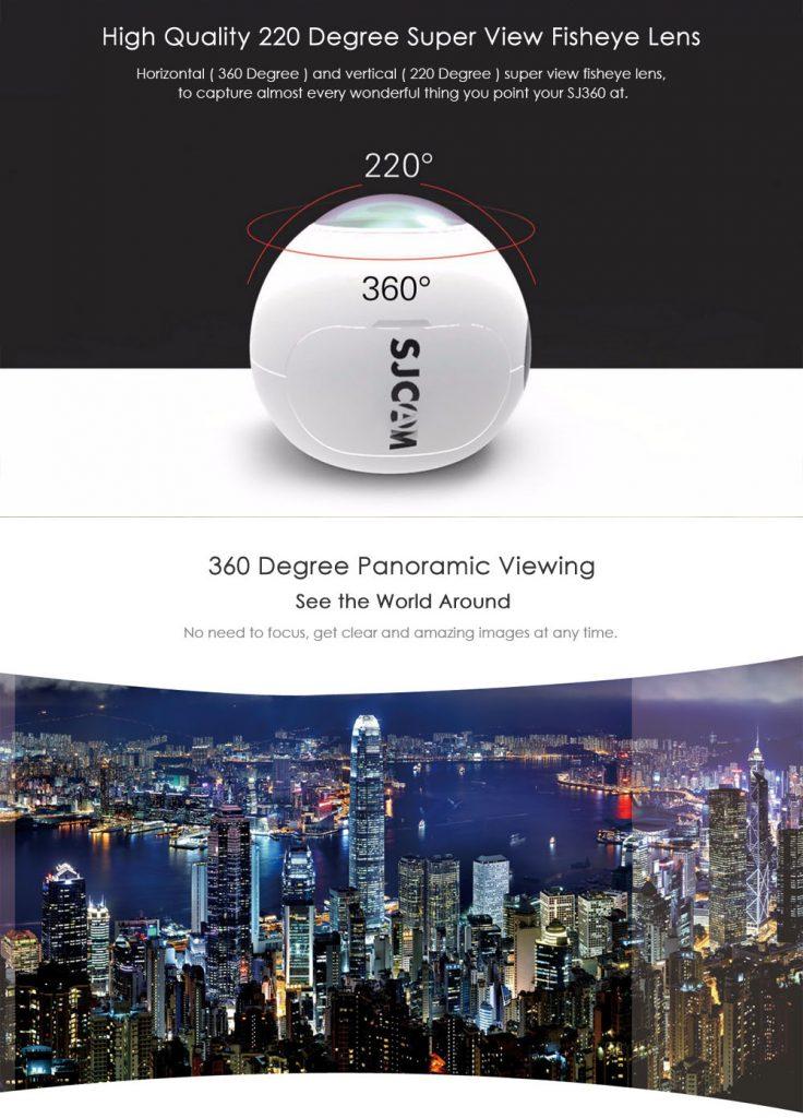 SJCAM SJ360 екшън камера 8