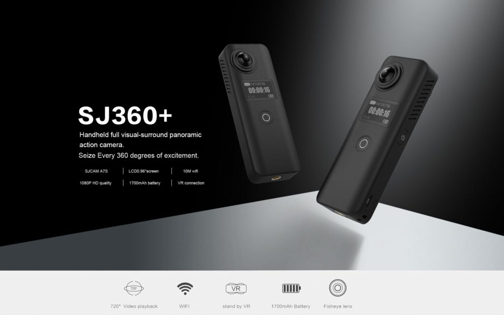 SJCAM SJ360+ HD 1080P VR Panoramic