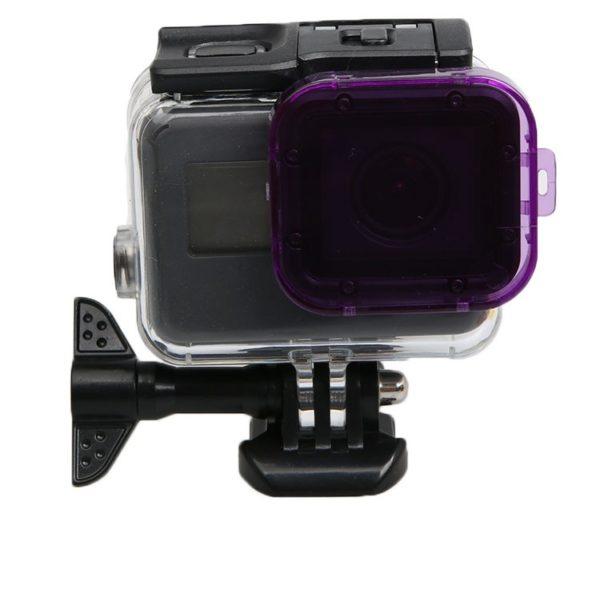 Лилав филтър за подводно снимане за GoPro Hero 5 6