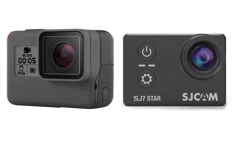 GoPro Hero 6 Black vs SJCAM SJ7 Star