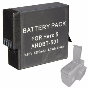 батерия за gopro hero 5 6 3