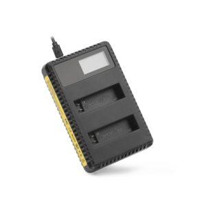 зарядно за gopro hero 4 с led дисплей