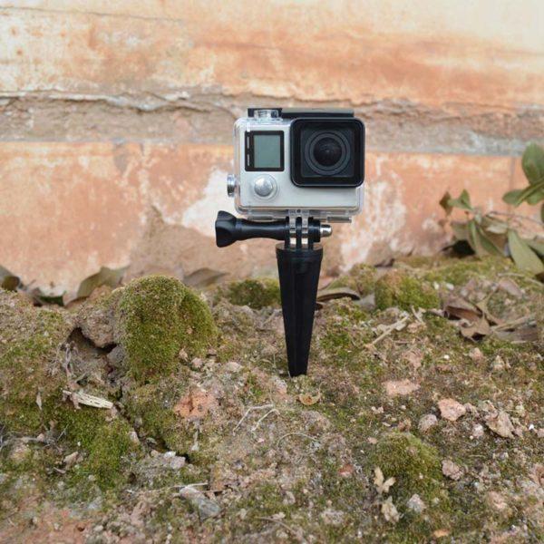 къмпинг стойка за gopro за пясък почва 4