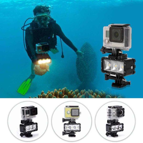осветление за подводно снимане за gopro 2