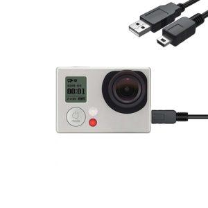 mini usb кабел за gopro hero