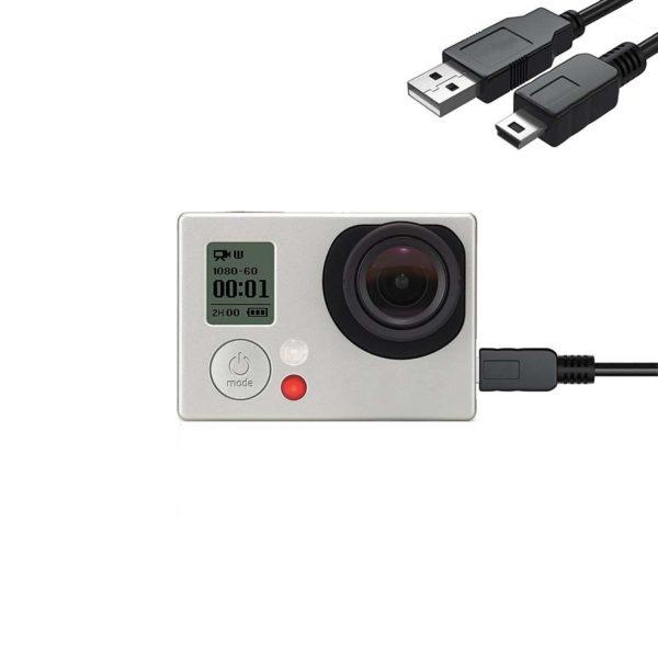 mini usb кабел за gopro hero 3 3