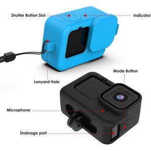 Калъф за GoPro Hero 9 Black, Капаче, Силикон 2