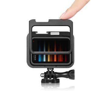 Рамка за GoPro Hero 9 Black, Алуминий, Черен 2