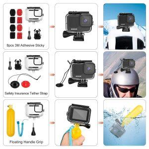 Комплект GARV Water Shield Evo за GoPro Hero 9 Black 3