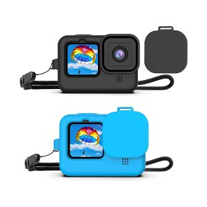 Калъф за GoPro Hero 9 Black, Капаче, Силикон