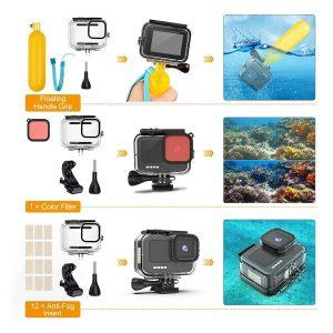 Комплект GARV Water Shield Plus за GoPro Hero 9 Black 4